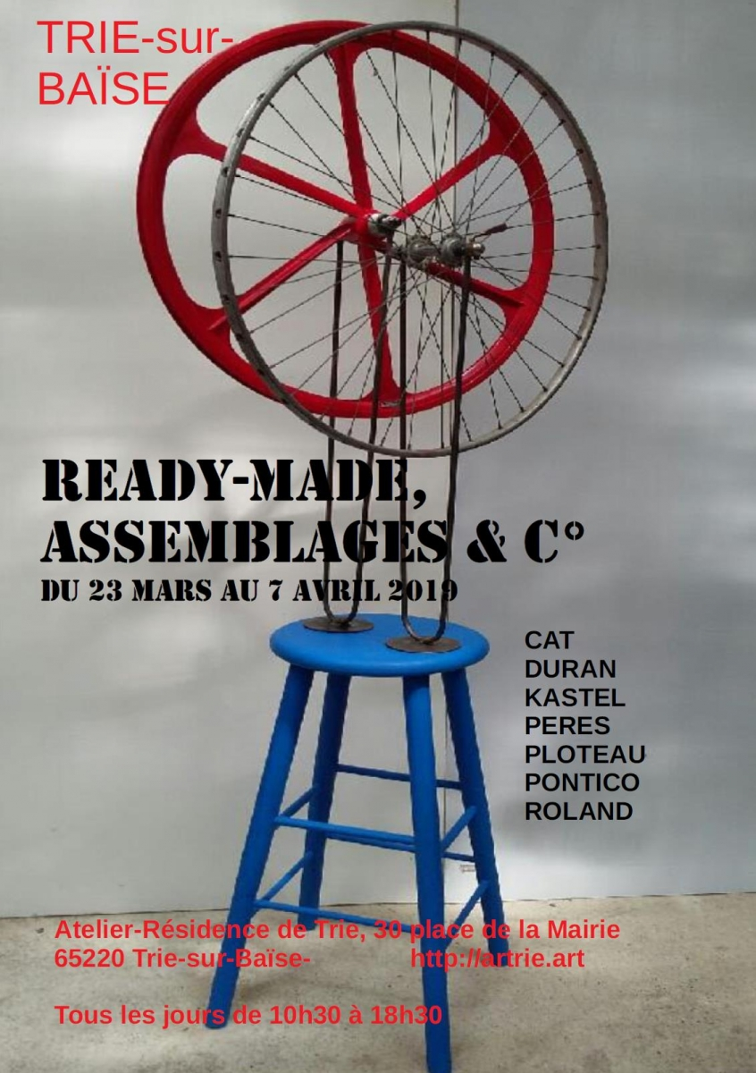 Ready-made, assemblages & c°